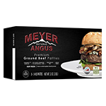 Natural Angus Ground Beef Patties Front Package